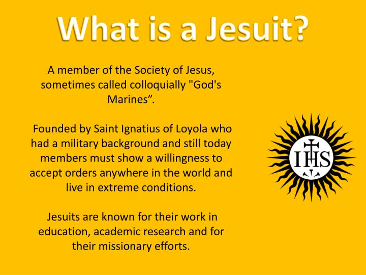What is a Jesuit?