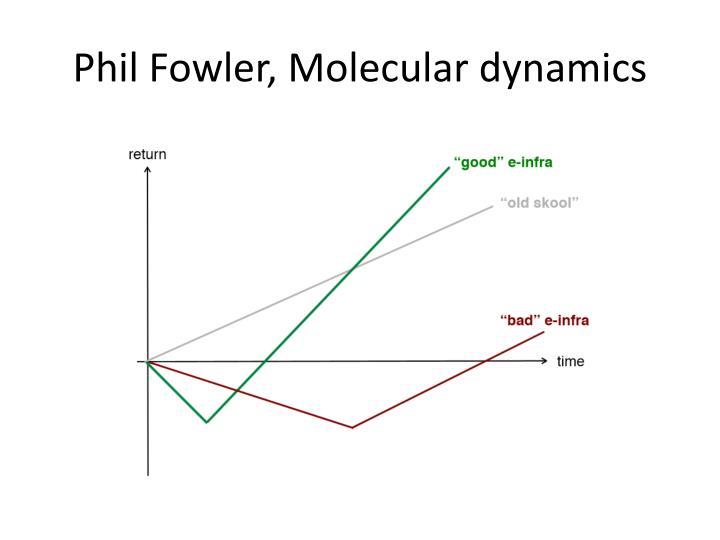 Phil Fowler, Molecular dynamics