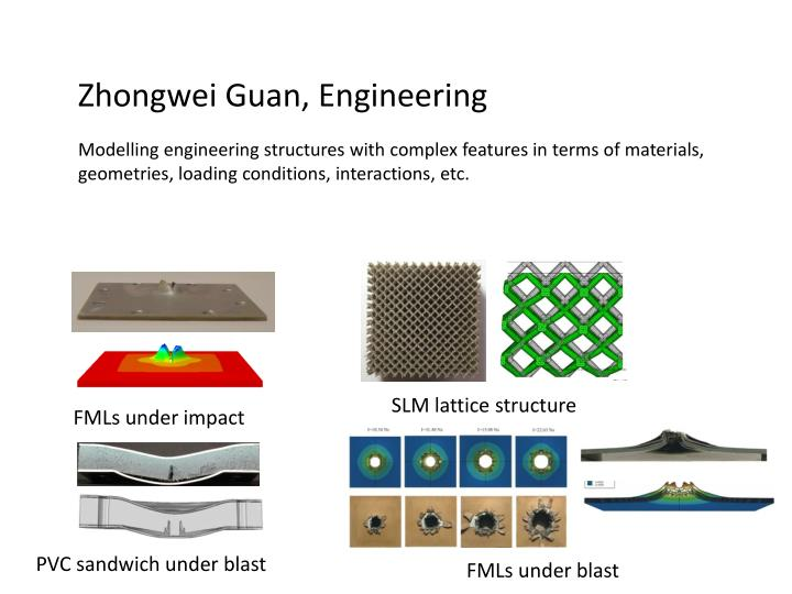 Zhongwei Guan, Engineering