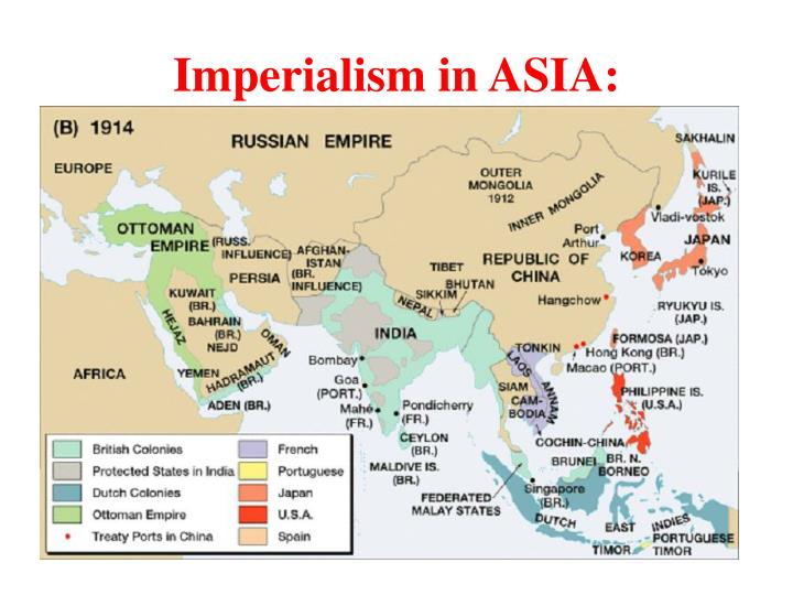 Imperialism in ASIA: