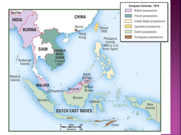 Colonial Asia