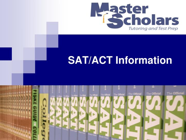 sat act information