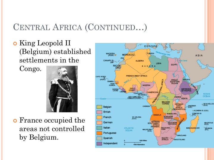 Central Africa (Continued…)