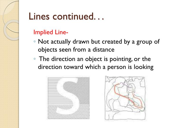 Lines continued. . .