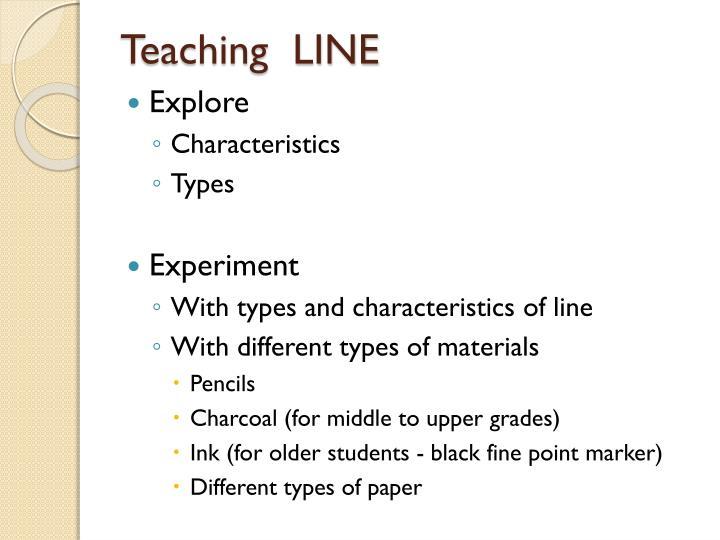 Teaching  LINE