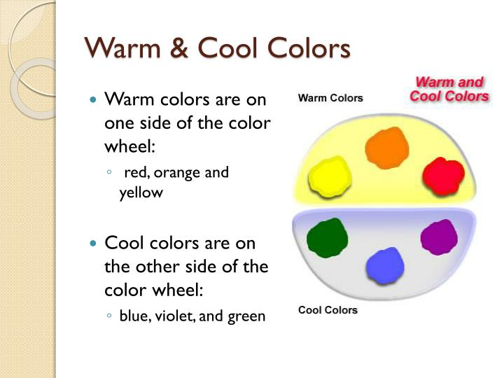 Warm & Cool Colors