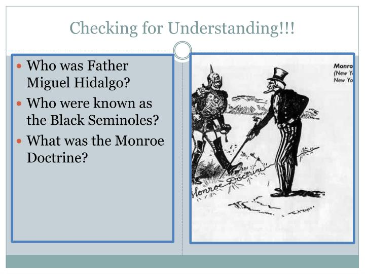Checking for Understanding!!!