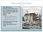 flood of british goods