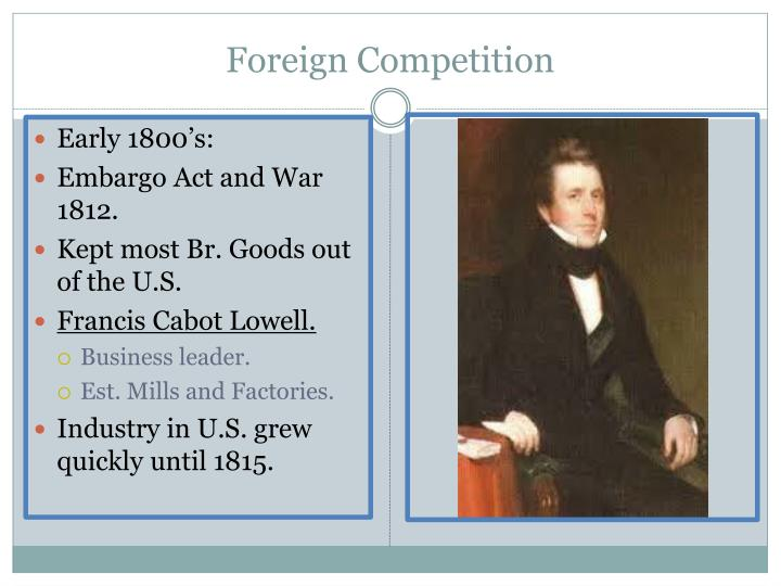 Foreign Competition
