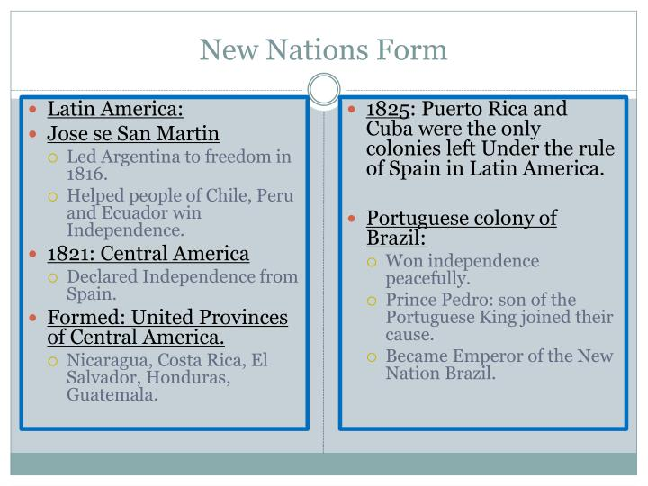 New Nations Form