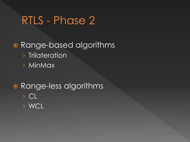 RTLS - Phase 2