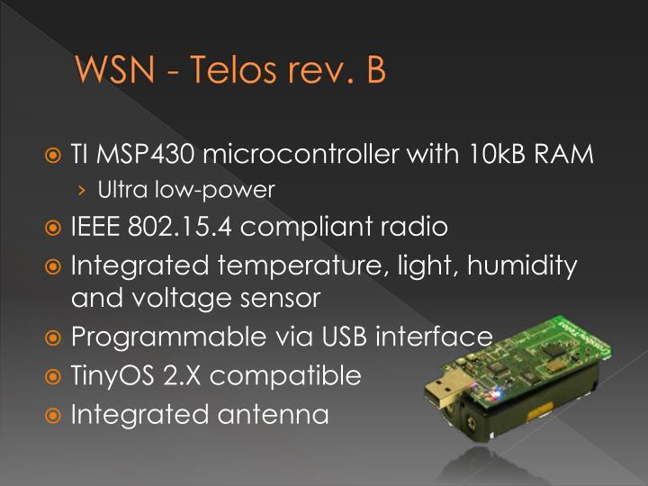 WSN - Telos