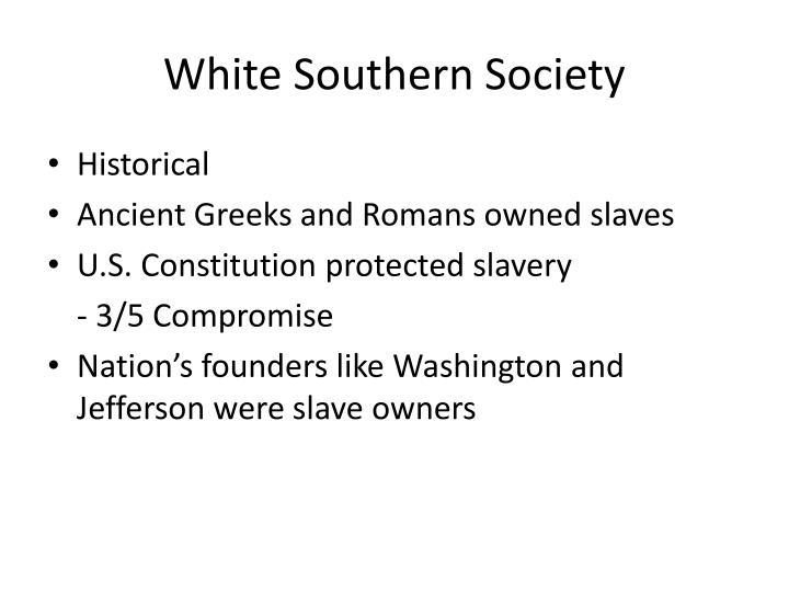 White Southern Society
