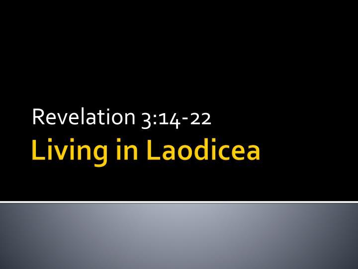 Revelation 3:14-22