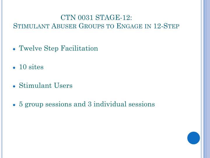 CTN 0031 STAGE-12: