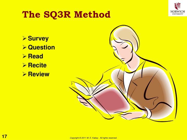 The SQ3R Method