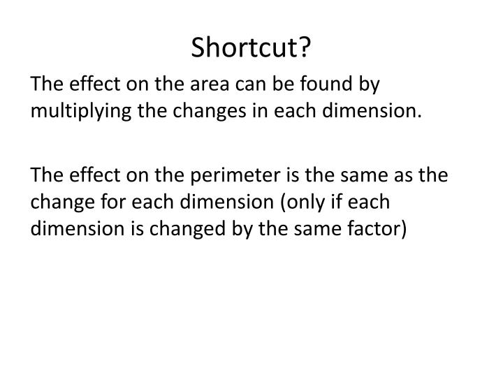 Shortcut?