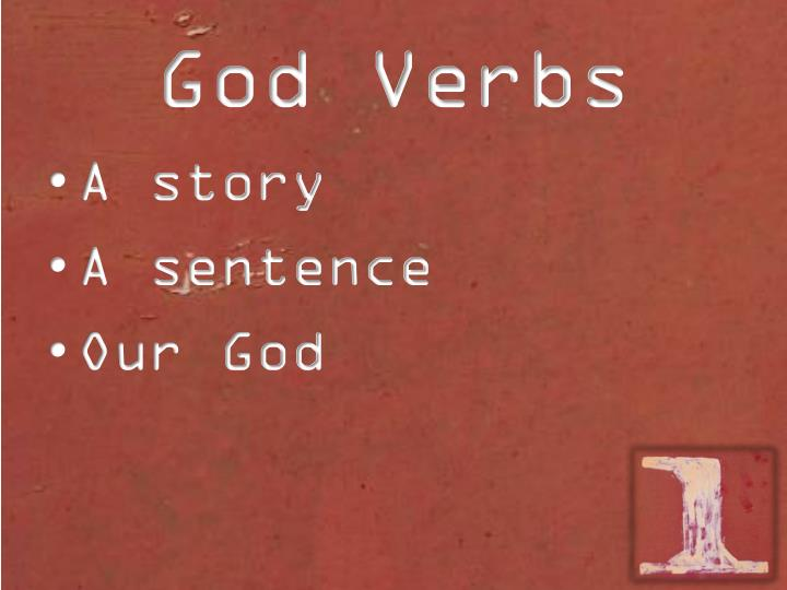 God Verbs