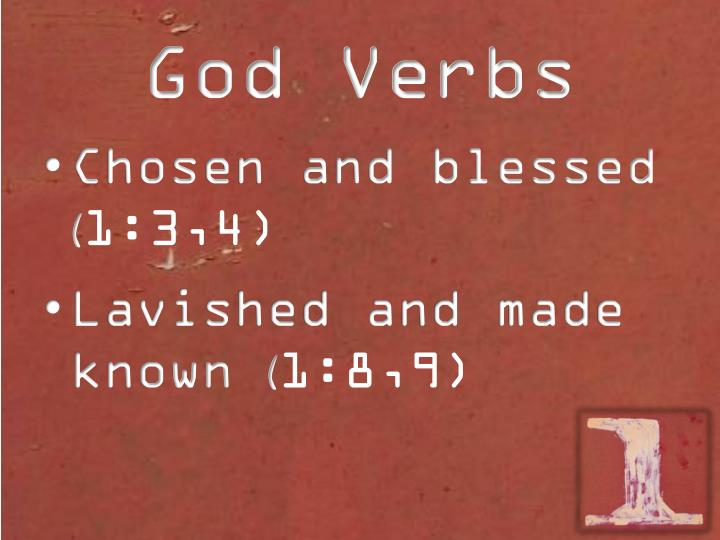 God Verbs
