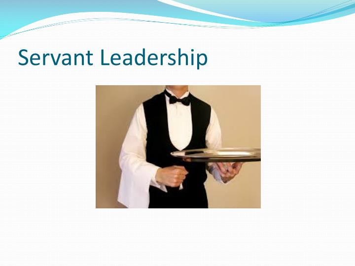 servant as leader essay Servant leadership means acting as a leader and not as the typical boss this is done through trying to help people grow by teaching them and encouraging them to become the best them they can possibly become.