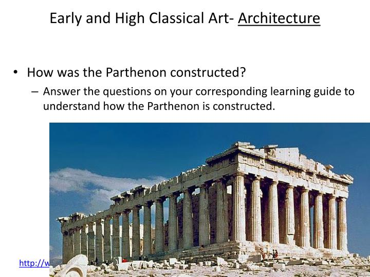 Early and High Classical Art-