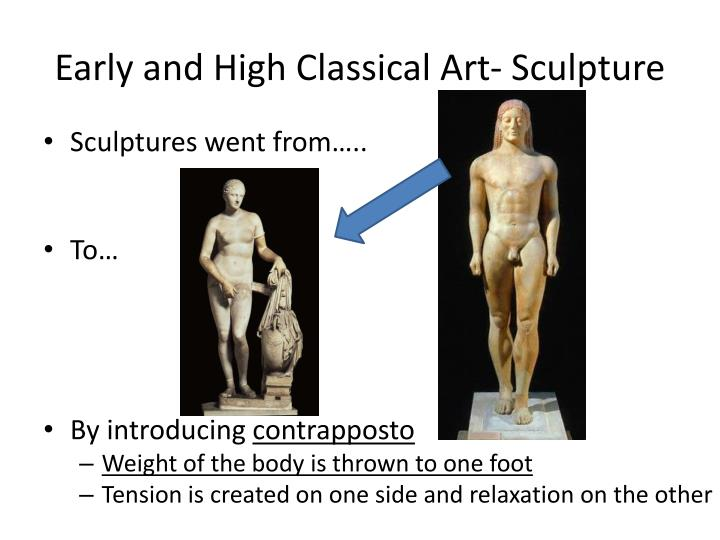 Early and High Classical Art- Sculpture