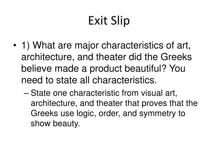 Exit Sli