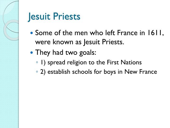 Jesuit Priests