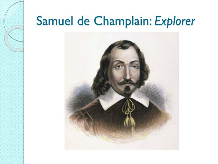 Samuel de Champlain: