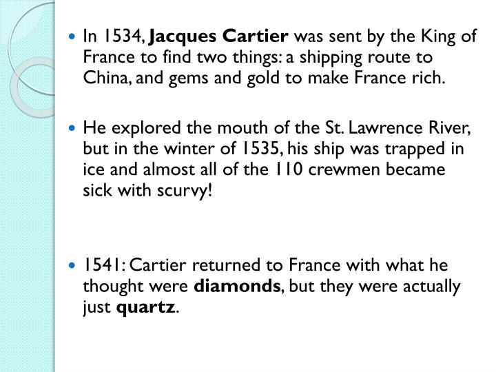 In 1534,