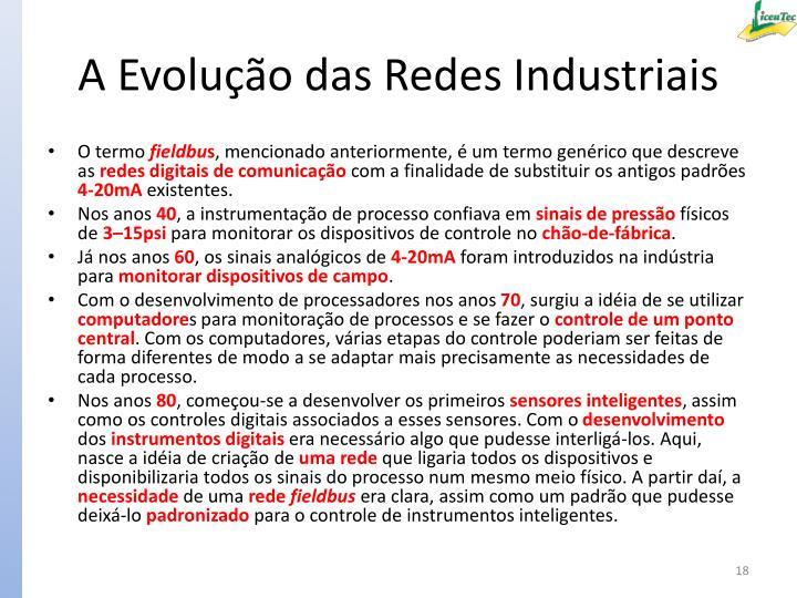 A Evolução das Redes Industriais