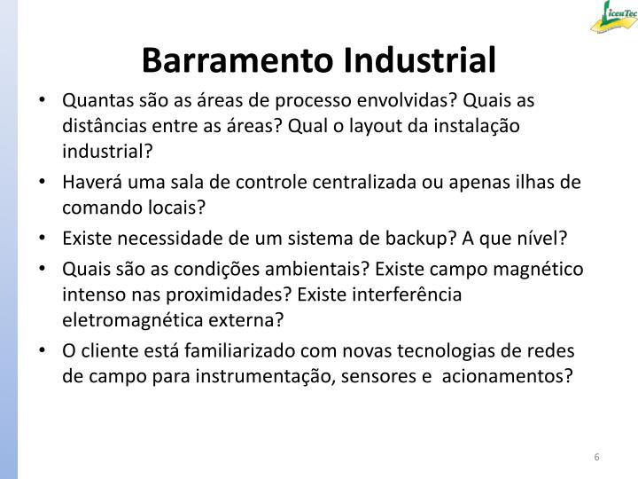 Barramento Industrial