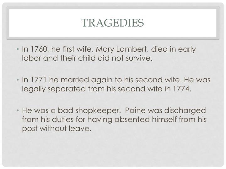 Tragedies