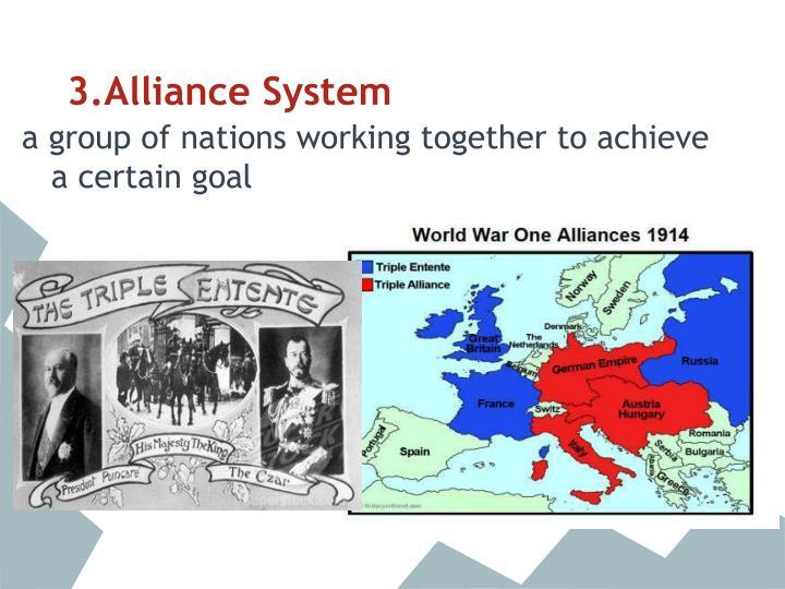 3.Alliance System