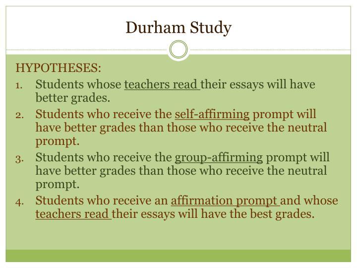 Durham Study