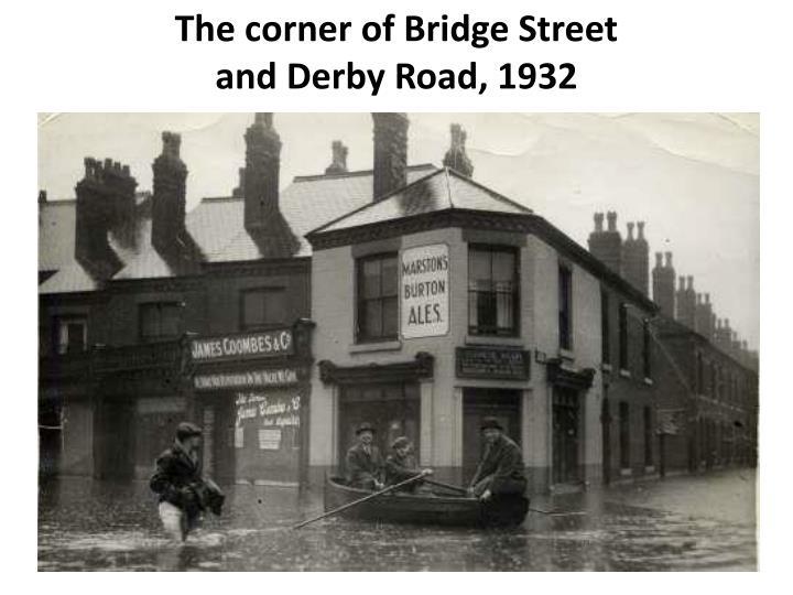 The corner of Bridge Street