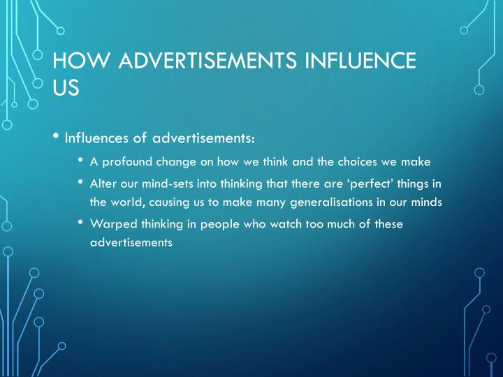 how advertisers persuade adults