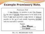 example promissory note