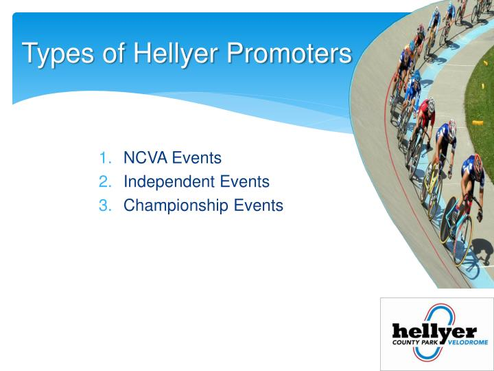 Types of Hellyer Promoters