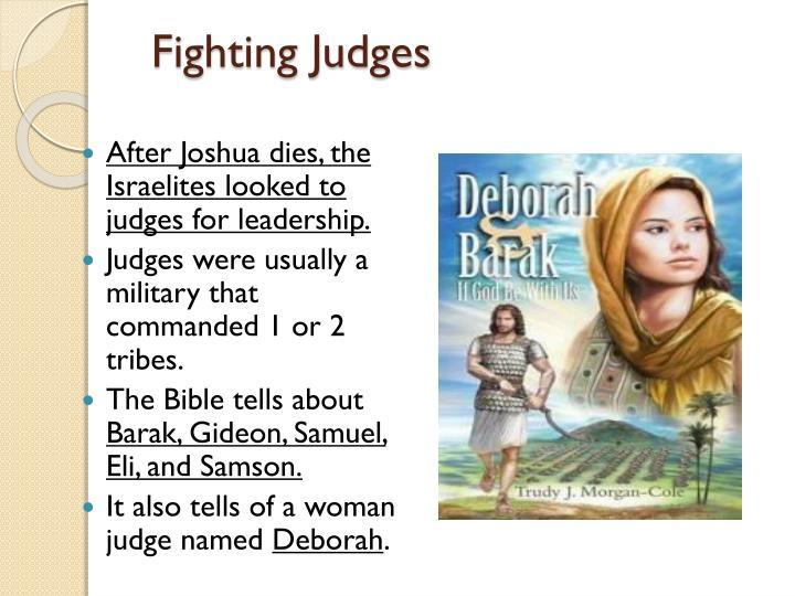 Fighting Judges