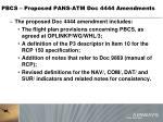 pbcs proposed pans atm doc 4444 amendments1