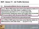 rcp annex 11 air traffic services1