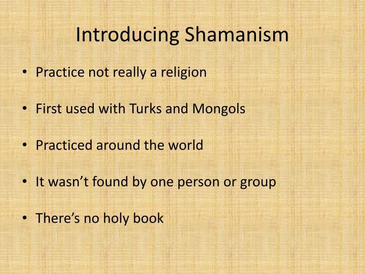 Introducing Shamanism