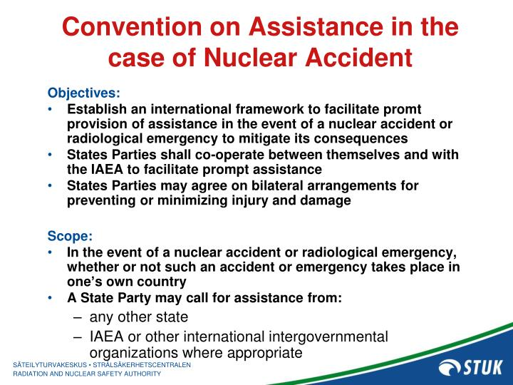 Convention on Assistance in the case of Nuclear Accident