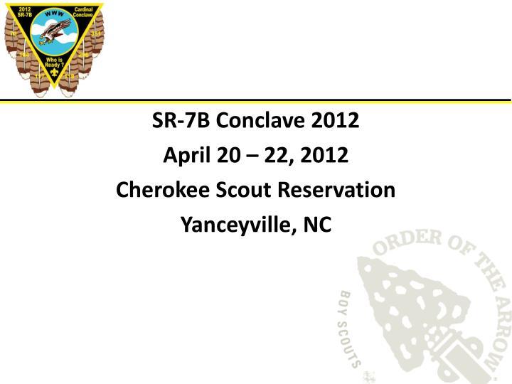 SR-7B Conclave