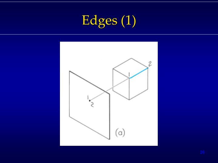 Edges (1)