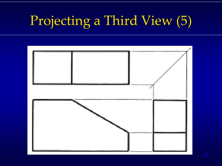Projecting a Third View (5)