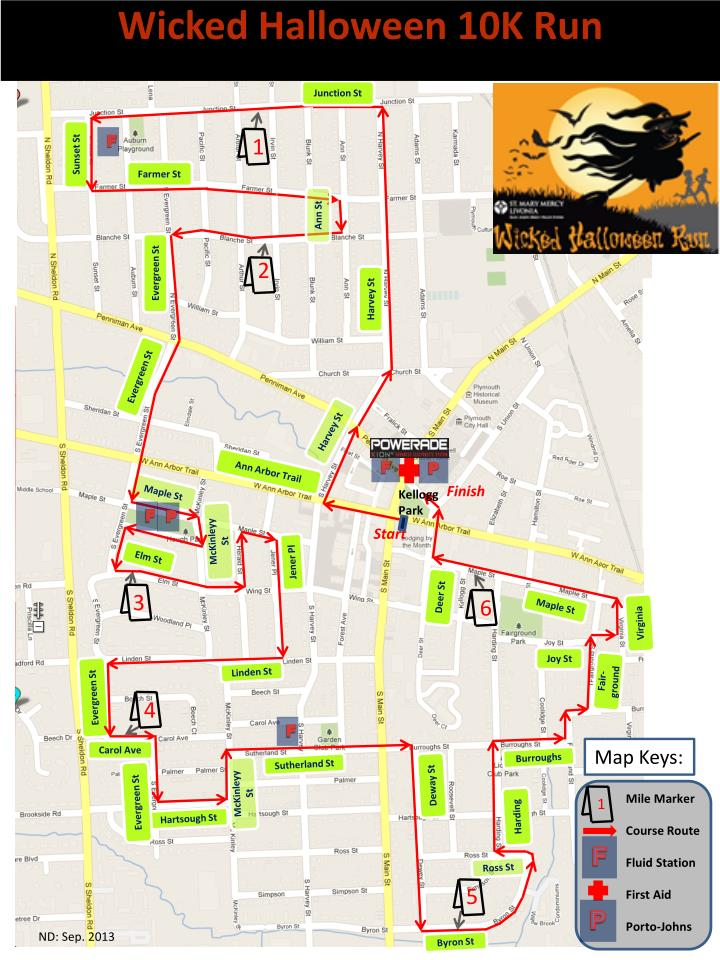 Wicked Halloween 10K Run