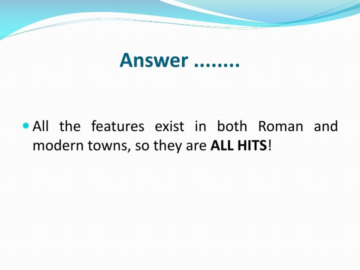 Answer ........