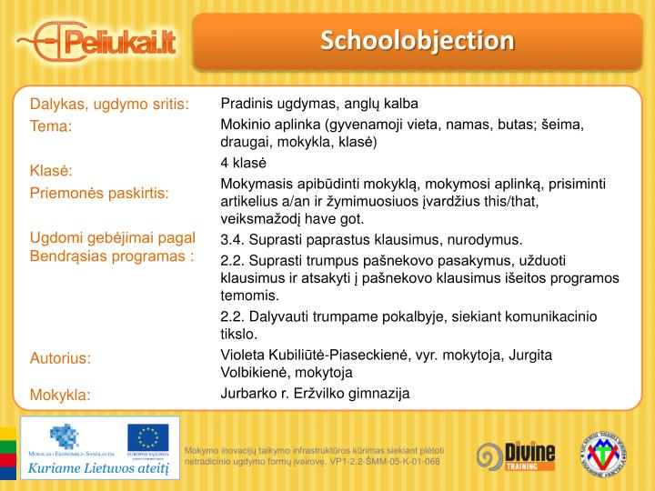 Schoolobjection